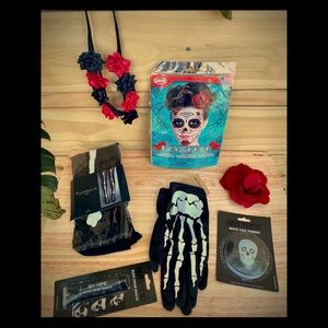 Day of The Dead Costume Accessories Kit